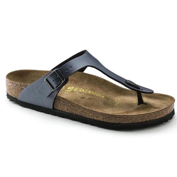 311a13bfc6f Birkenstock Shoes - Birkenstock Gizeh Sandals in Ice Pearl Onyx